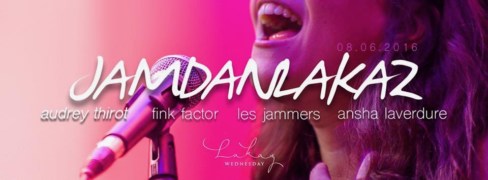 Audrey Thirot Parisian jazz vocalist organise her first Nomad Project in Mauritius island. Improvised latin jazz concert.